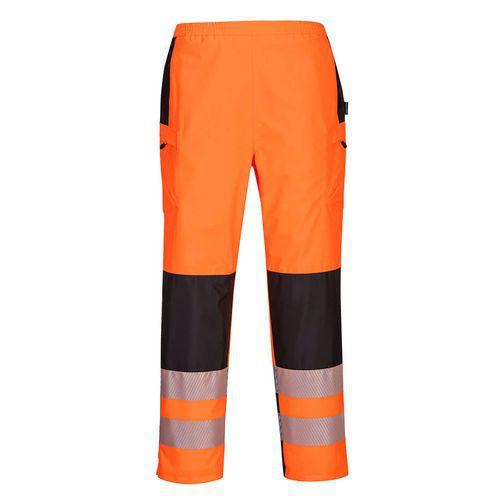 PW3 Hi-Vis Dámske nohavice do dažďa, čierna/oranžová